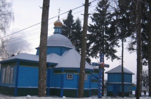 Церква в Карпилівці фундатором якої був Бульба-Боровець
