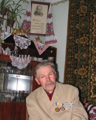 """Микола Євстахієв, ветеран УПА """"Поліська Січ"""""""