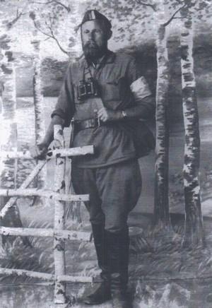 Тарас Баравец (Тарас Бульба), командувач УПА на білоруському Поліссі, 1941 р.