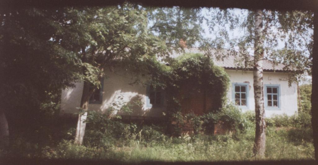 Хата у селі Березова Лука на Полтавщині, де народився Петро Дяченко