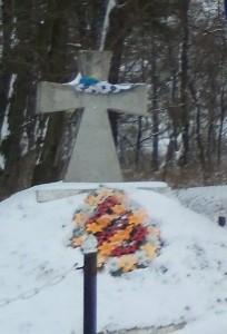 Пам'ятник борцям за волю України у Володимирці
