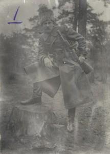 """Засновник УПА """"Поліська Січ"""" Тарас Бульба-Боровець.  Фото 1942 року."""