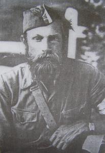 Тарас Бульба-Боровець - засновник УПА в роки Другої світової війни.