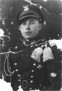 Порфир Антонюк під час служби у польському війську, де здобув чин капрала. 1931 рік
